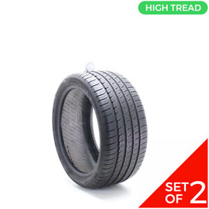 Set Of 2 Used 255 35r18 Michelin Primacy Mxm4 Mo 94h 8 9 5 32