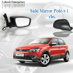 Car Side Mirror For Volkswagen Polo T1 2010 2014 Right Side