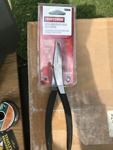 New Craftsman Usa Made 8 Inch Long Reach Duck Bill Pliers 45087 Free Shipping
