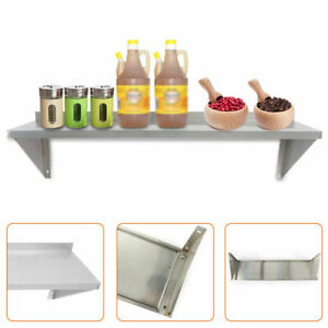 12 36 Inch Stainless Steel Solid Wall Shelf Commercial Kitchen Restaurant New Us