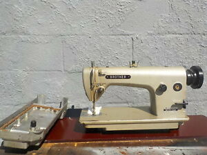 Industrial Sewing Machine Brother 715 reverse light Leather