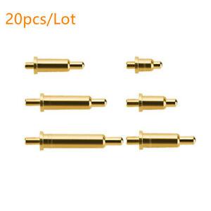 20pcs 4 5 8 0mm Pin Plug Spring Loaded Signal Test Probes Pogo Pins Connector