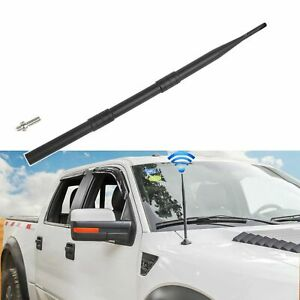 13 Inch Flexible Rubber Truck Antennas Compatible With Ford F150 2009 2019 A