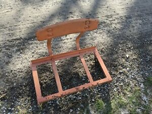 Allis Chalmers B Tractor Original Seat Assembly