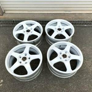 4x Rally Wheels 5x130 R17 Enkei Racingline Rc 5 Porsche