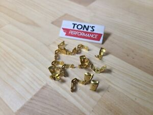 15 Pieces Brass Spark Plug Distributor Wire Terminal Ends Dorman 642 132