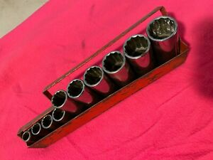 Matco Tools 3 8 Drive Deep Socket Set Sae 12 Point 3 8 To 15 16