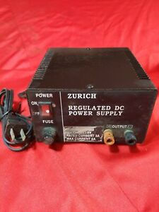 Power Supply Length Tour Zurich Dps 123 Regulated Dc 13 8v 2a 3a 5a Used