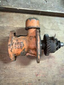 Allis Chalmers Wc Wd Tractor Engine Distributor Drive Governor Assembly Ac Un