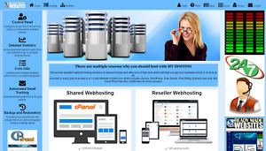 Style 3001 Ready Made Reseller Webhosting Website Free Billing System Included