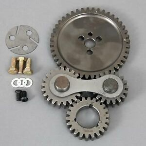Sbc Premium Gear Drive For Factory Roller Cams Chevy 305 350 383 400
