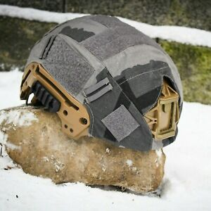 T Block Camouflage OPS Core Helmet Cover Size MEDIUM LARGE $64.99