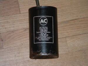 1957 1958 1959 1960 1961 1962 Chevy Oil Filter Canister With Bolt