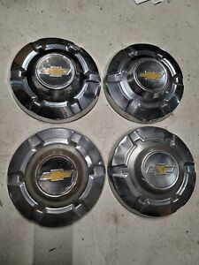 1973 74 75 76 77 Chevrolet Truck Pickup 3 4 Ton 8 Lug Stainless Hubcaps C20