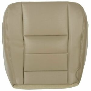 Driver Bottom Seat Cover For 2003 2004 2004 2006 2007 Ford F250 F350 Lariat Tan