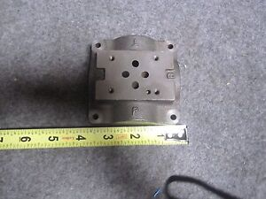 Vickers 466731 Sub plate Dgvm 3 10 s New