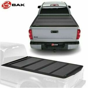 Bakflip Mx4 Tonneau Bed Cover 2007 2020 Toyota Tundra Crew Max 5 6 Bed 448409