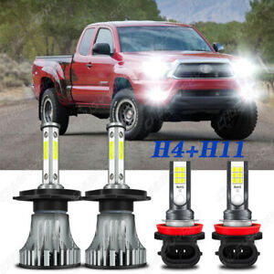 Para For Toyota Tacoma 2012 2014 2015 Kit De Faros Led Hi Low Luz Antiniebla