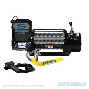 Superwinch 1585202 8500 Lbs 12 Vdc 5 16in X 95ft Steel Rope Lp8500 Winch