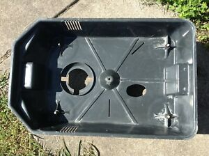 Thermax Extractor Heated Carpet Cleaner Cp 3 2 Parts Base With Casters