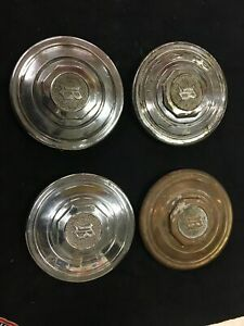 Vintage Buick Hub Caps Center Caps 1930s 1931 1932 1933 1934 Set Of Four