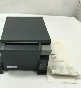 Epson Tm t70 Pos Thermal Receipt Printer Model M225a W o Ac Adapter Tested
