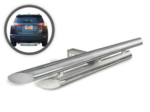 Vanguard Stainless Steel Classic Double Layer Hitch Step Fits Universal Models