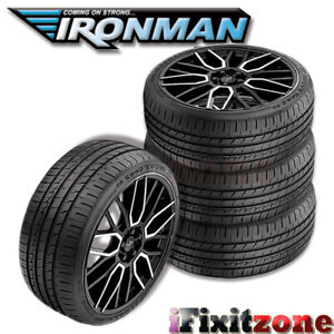 4 Ironman Imove Gen2 Gen 2 As 195 65r15 91h Uhp All Season Performance Tires