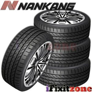 4 Nankang Ns 25 All season Uhp 215 45r17 91v Xl A s Tires 50 000 Mile Warranty