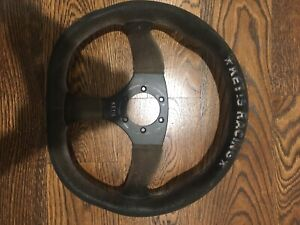 Keys Racing Semi Deep Dish Flat Bottom Steering Wheel
