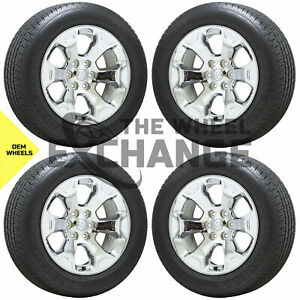 20 Dodge Ram 1500 Chrome Wheels Rims Tires Factory Oem 2019 2020 Set 4 2680