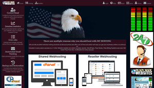 Style 3018 Ready Made Reseller Webhosting Website Free Billing System Included
