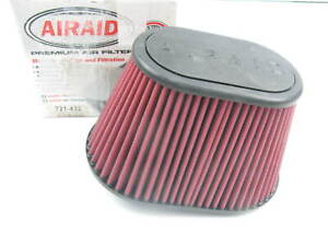 Airaid 721 432 Cold Air Intake Oval Performance High Flow Air Filter 2 75 Inlet