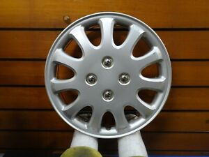 One Genuine 1993 To 1997 Toyota Corolla 14 Inch Wheel Cover Hubcap 61076