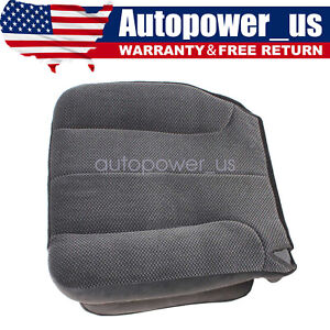 2003 2005 For Dodge Ram 1500 Slt Driver Bottom Cloth Seat Cover Dark Gray New