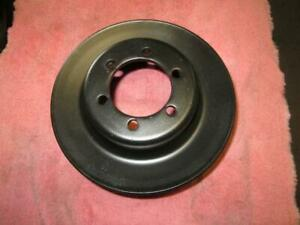 Oem Plymouth Dodge 340 440 Crank Pulley Clean 383 Mopar Cuda Charger Dart