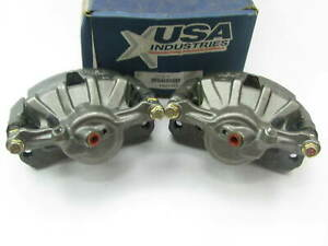 Usa Industries Frp1568 Reman Front Brake Caliper Set For 1992 1999 Toyota Camry