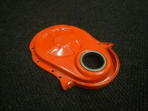 New Timing Chain Cover Chevy Bb 396 454 Orange Big Block