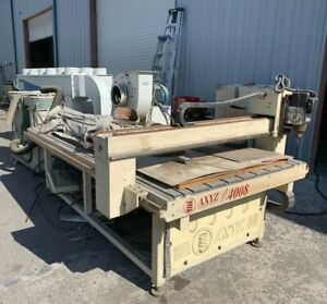 Cnc Router Axyz Model 4008 With Lmc Dust Collector