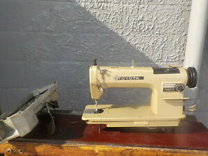Industrial Sewing Machine Toyota Ad157 reverse light Leather