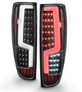 For 2004 2012 Chevy Colorado Gmc Canyon Led Light Tube Tail Lights Brake Lamps