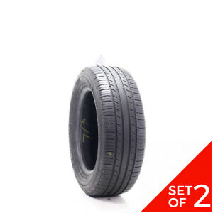 Set Of 2 Used 215 60r16 Michelin Premier A S 95v 6 5 32