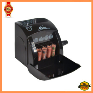 Manual Coin Sorter Change Money Cash Counting Counter Machine Anti jam Roll New