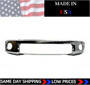 New Usa Made Chrome Front Bumper For 2007 2013 Toyota Tundra Ships Today