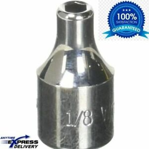 Williams M 604 1 4 Drive Shallow Socket 6 Point 1 8 inch