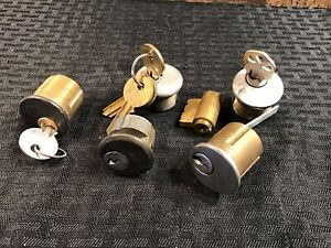 Yale Cylinders For Rim Lever Mortise Y1 6 Qty