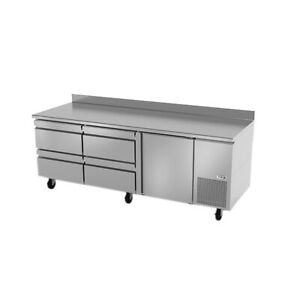 Fagor Refrigeration 93 Stainless Steel Worktop Refrigerator With Four Drawers