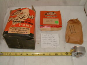 Nos Trico Aws 16 Power Jet Repeater Windshield Washer Kit w Instructions