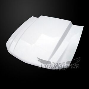 2010 2012 Ford Mustang 3 Cowl Style Functional Heat Extraction Ram Air Hood