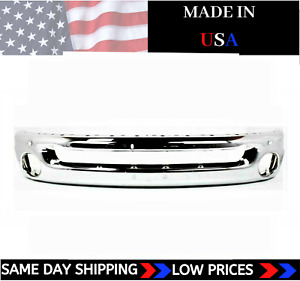 New Usa Made Chrome Front Bumper For 2002 2009 Dodge Ram Pickup Ships Today